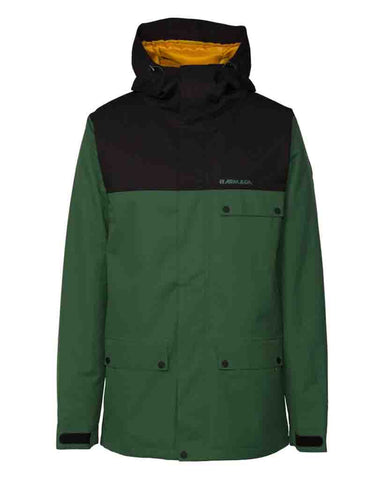 EMMETT INSULATED JACKET FOREST GREEN