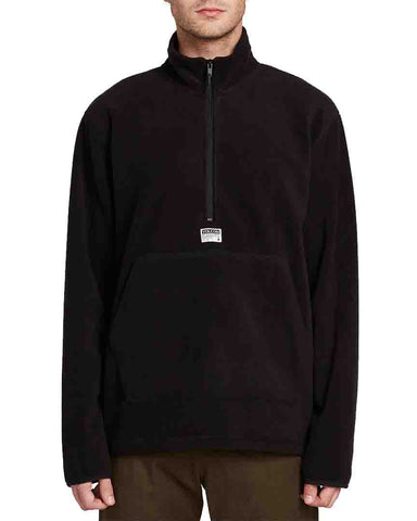 ATAVIC QUARTER ZIP BLACK