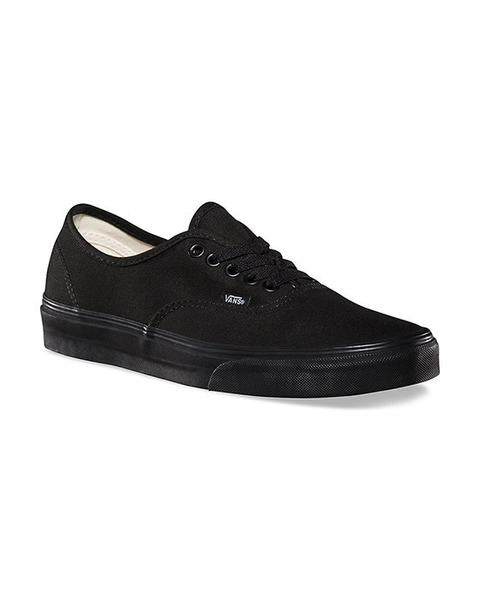 VANS AUTHENTIC BLACK / BLACK Shoes