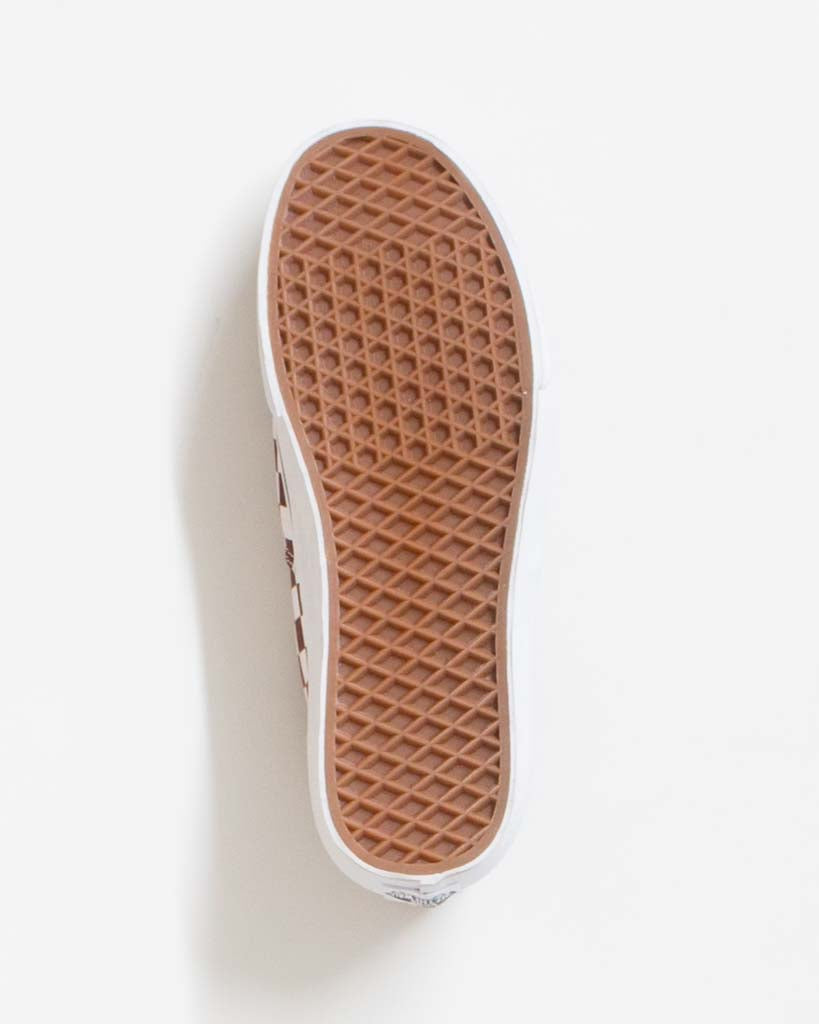 Souliers VANS AUTHENTIC CHECKERBOARD PORT ROYAL TRUE WHITE