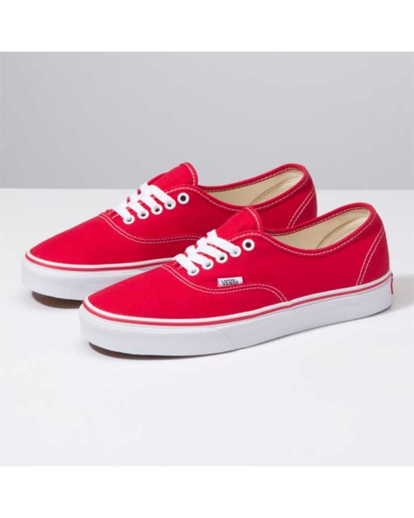 Souliers VANS AUTHENTIC RED