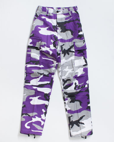 BDU CARGO RELAXED FIT ULTRA VIOLET CM
