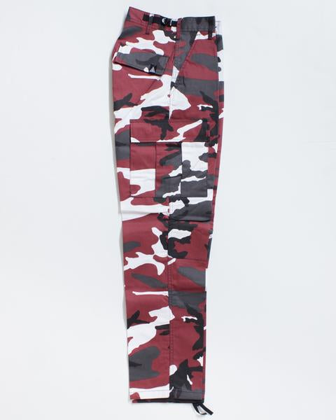 Pantalon cargo ADRENALINE ADRE CARGO RELAXED FIT RED CAMO