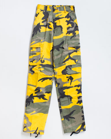 BDU CARGO RELAXED FIT STINGER YELLOW