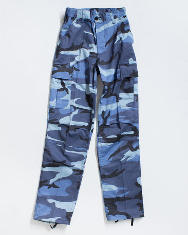 BDU CARGO RELAXED FIT SKY BLUE CAMO