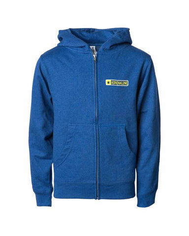 OG LOGO ZIP JUNIOR BLUE