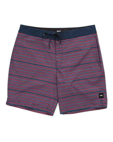 "BACK PATIO 18"" BOARDSHORT RHUMBA RED"