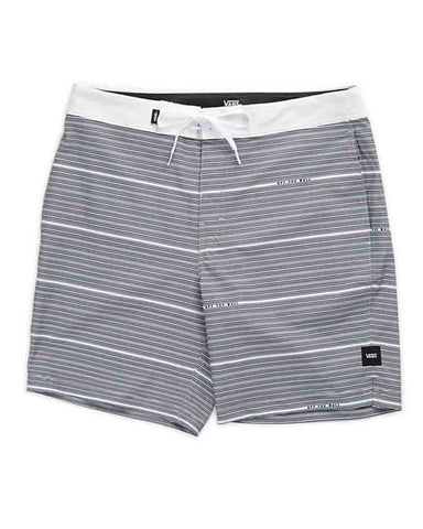 "BACK PATIO 18"" BOARDSHORT WHITE"