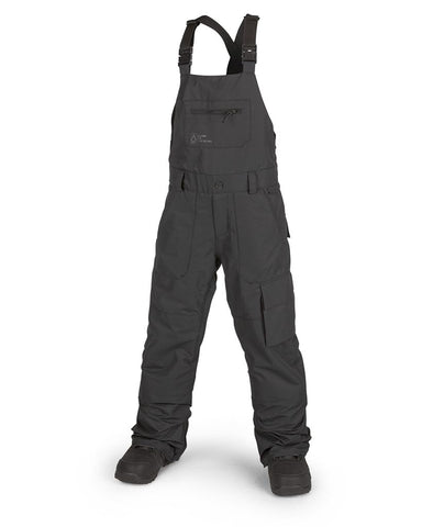 BIG KIDS BARKLEY BIB OVERALL BLACK