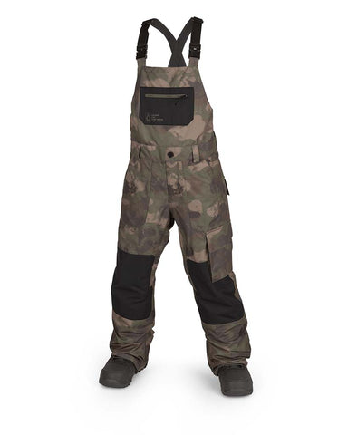 BIG KIDS BARKLEY BIB OVERALL CAMOUFLAGE