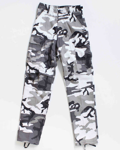 BDU CARGO RELAXED FIT CITY CAMO