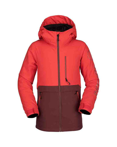 BIG BOY HOLBECK INSULATED JACKET FIRE RED