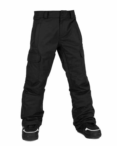 BIG BOYS CARGO INSULATED PANTS - BLACK 2021