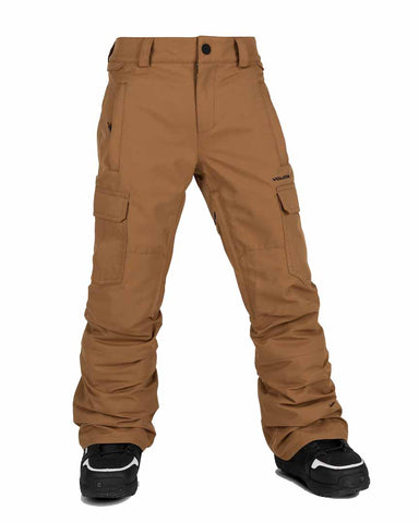 BIG BOYS CARGO INSULATED PANTS - CARAMEL
