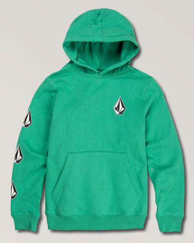 BIG BOYS DEADLY STONES HOODIE WINTERGREEN