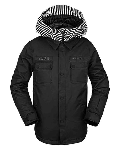 BIG BOYS NEOLITHIC INSULATED JACKET - BLACK