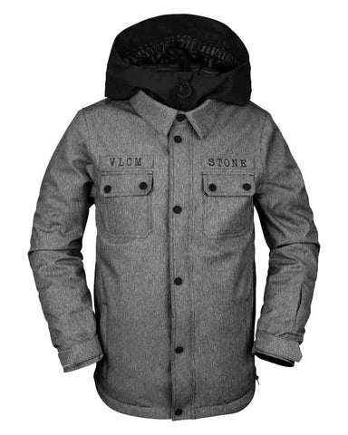 BIG BOYS NEOLITHIC INSULATED JACKET - HEATHER GREY