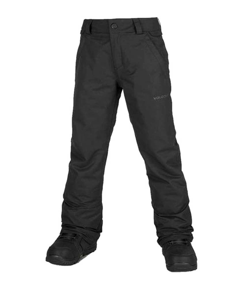 Snow pants VOLCOM BIG KIDS FREAKIN SNOW CHINO BLACK