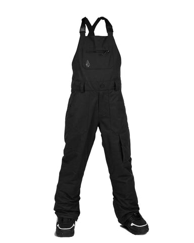 BIG YOUTH BARKLEY OVERALL BIB - BLACK