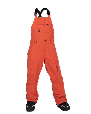 BIG YOUTH BARKLEY BIB OVERALL - ORANGE