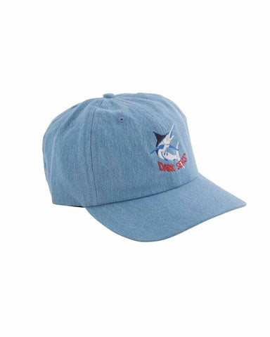 BILLFISH DAD HAT DENIM