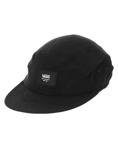BLANKER CAMPER 5-PANEL HAT BLACK