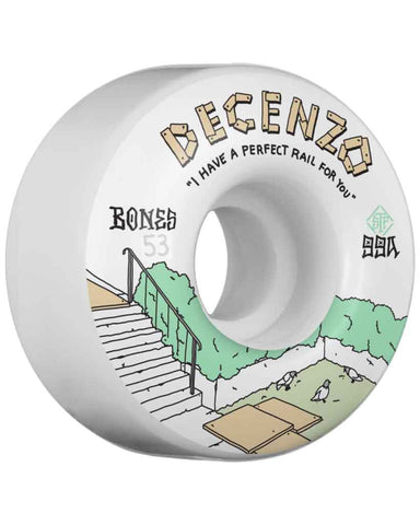 DECENZO RAIL V4 WHITE 53MM