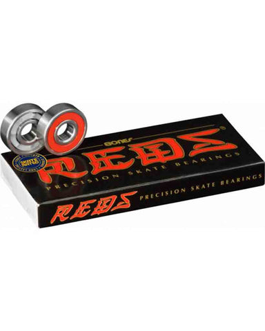 REDS® SKATEBOARD BEARINGS 8 PACK