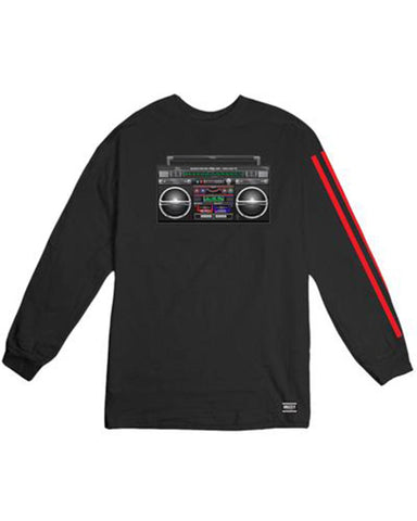 BOOM BOX LS BLACK