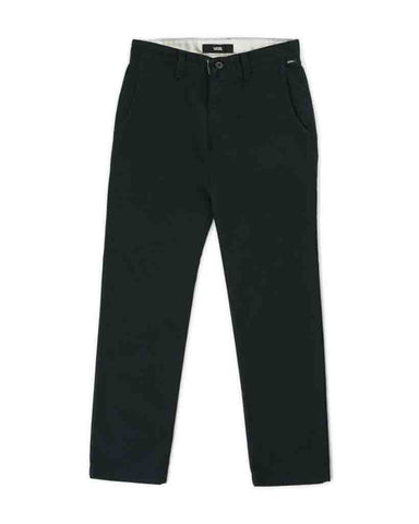 BOYS AUTHENTIC CHINO STRETCH BLACK