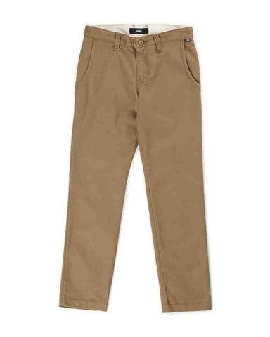 BOYS AUTHENTIC CHINO STRETCH DIRT