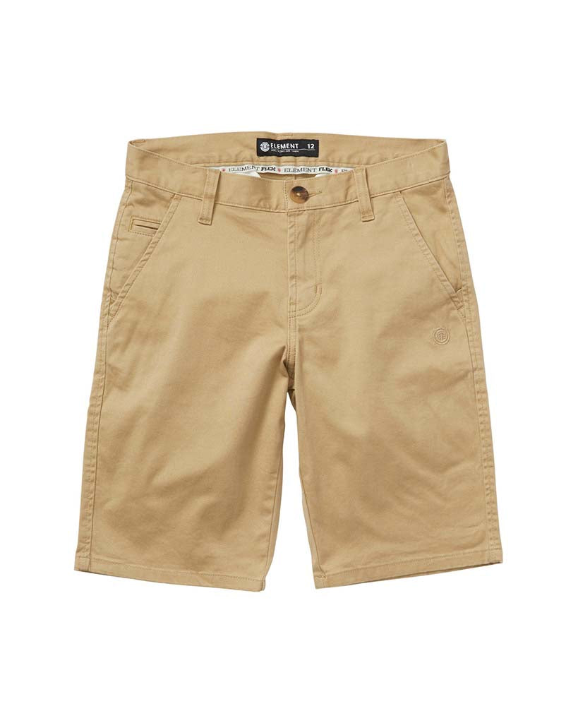 Short ELEMENT BOYS HOWLAND CLASSIC DESERT KHAKI
