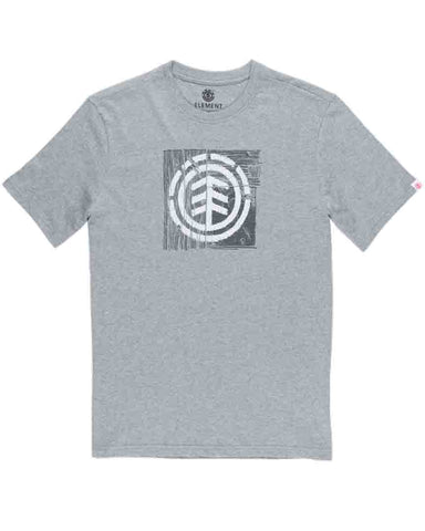 BOY DRIFTWOOD TEE GREY HEATHER