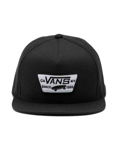 BOY FULL PATCH SNAPBACK BLACK
