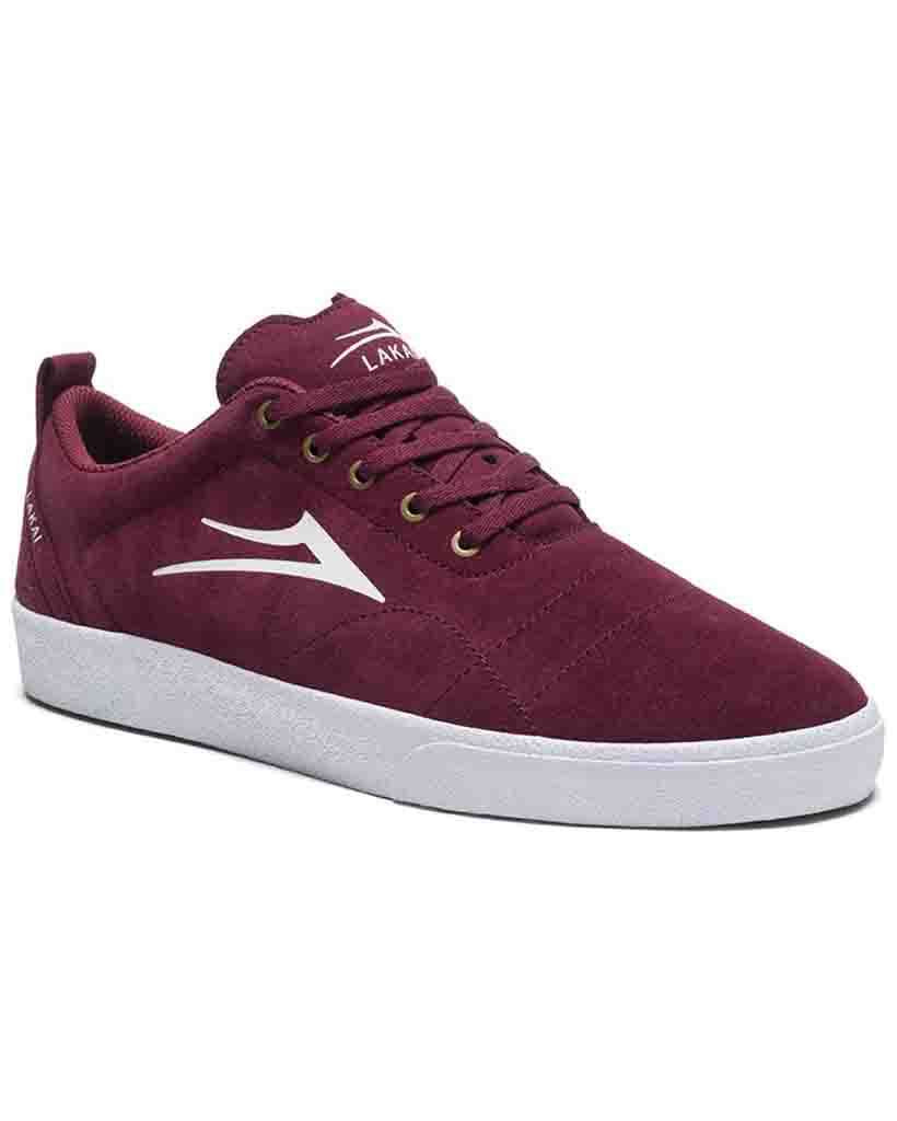Shoes LAKAI BRISTOL BURGUNDY