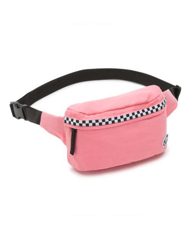 VANS BURMA FANNY PACK STRAWBERRY PINK-MICROCHECK