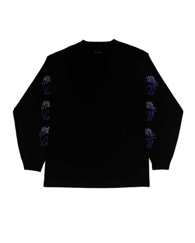 BURNING LONGSLEEVE BLACK