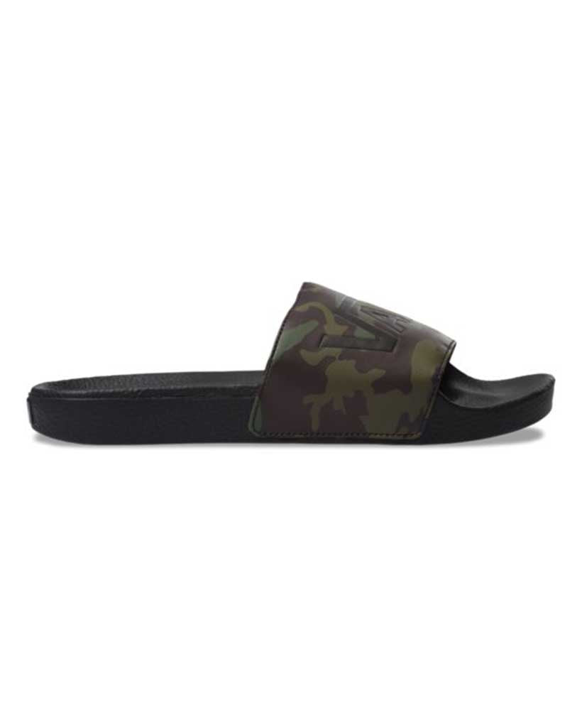 VANS CAMO SLIDE-ON BLACK-GREEN – Boutique Adrenaline