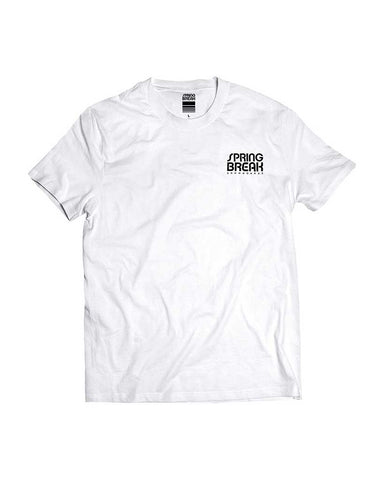 X SPRING BREAK SB BONE TEE WHITE