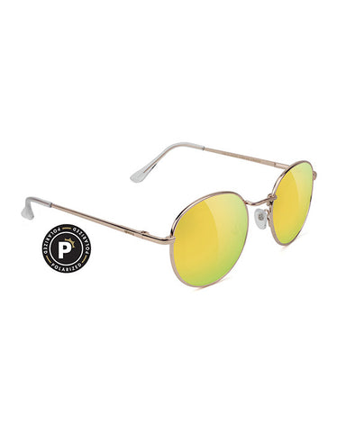 CARLOS POLARIZED GOLD/GOLD MIRROR