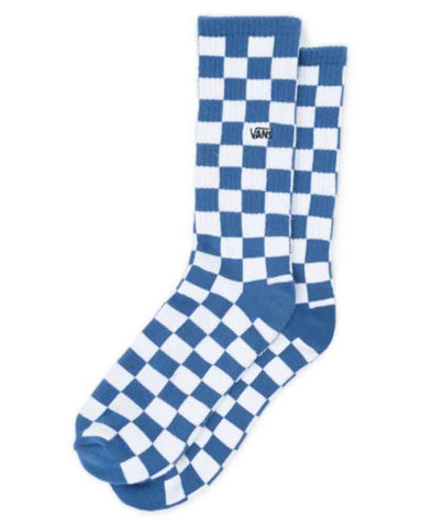 CHECKERBOARD CREW BLUE/WHITE