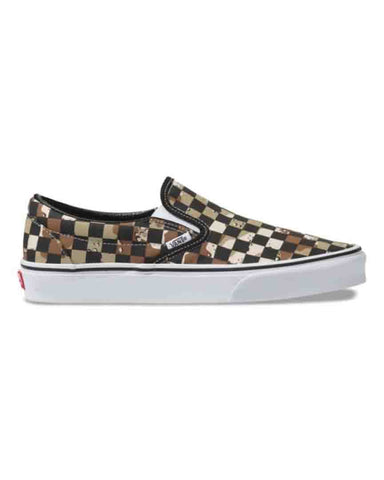 CHECKERBOARD SLIP-ON CAMO DESERT-TRUE WHITE