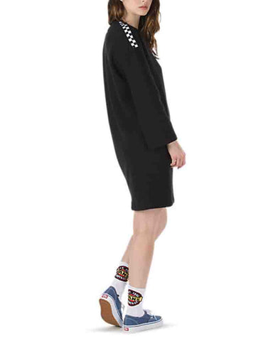 CHROMO DRESS BLACK
