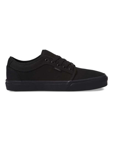VANS CHUKKA LOW BLACKOUT SKATE SHOES