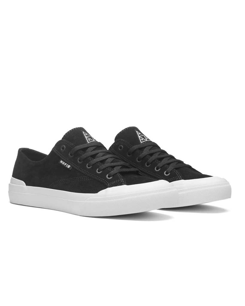 Souliers HUF CLASSIC LO BLACK WHITE