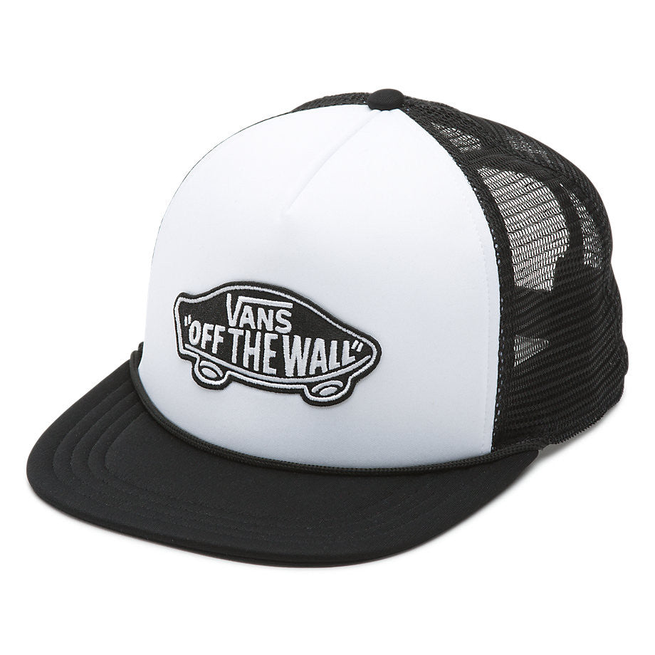 Casquette VANS CLASSIC PATCH TRUCKER WHITE BLACK