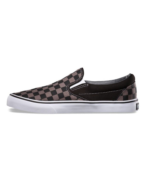 VANS CLASSIC SLIP-ON BLACK PEWTER CHECKERBOARD