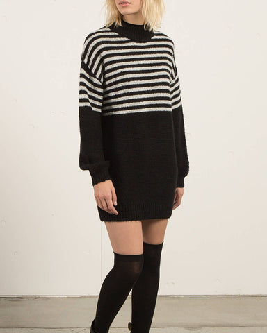 COLD DAZE DRESS BLACK