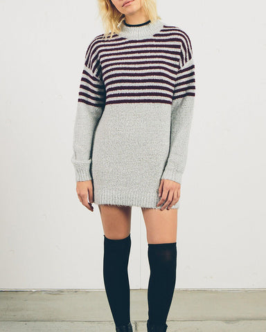 COLD DAZE DRESS HEATHER GREY