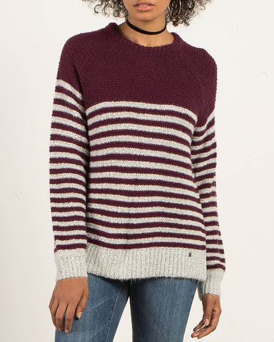 COLD DAZE SWEATER PLUM